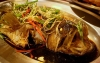 Steamed flower grouper with soy sauce