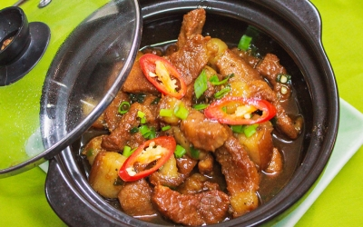 Braised pork with fish sauce